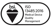 BSI Registered Company (ISO 13485:2016) - Cert. # MD 78785