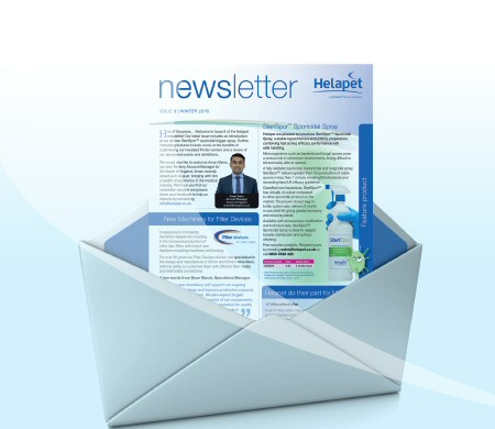 Helapet email newsletters