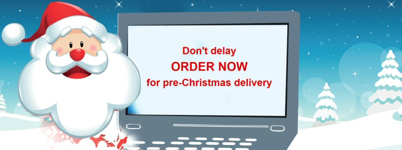 Order now for Pre-Christmas Delivery