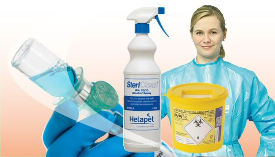Cleanroom Consumables UK | Sterile Cleanroom Products