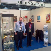 Filter Devices go global at Forum Labo and Biotech 2013