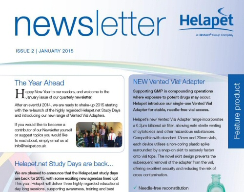 Feb 2015 - More Helapet news with issue two!