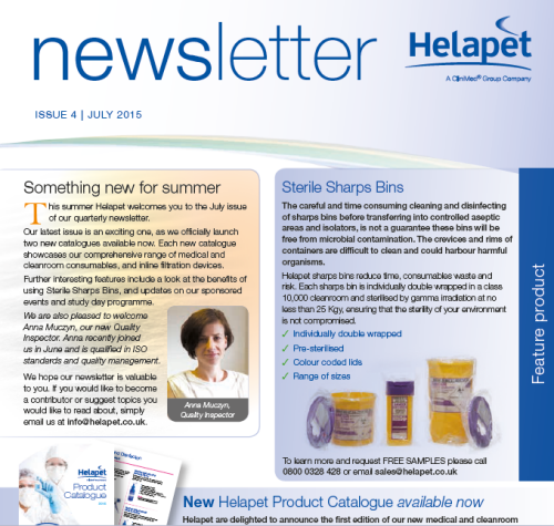 July 2015 - News out for summer!